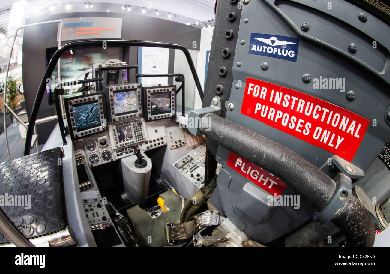 Tornado Cockpit at ILA , International Aerospace Exhibition , Berlin - Stock Image