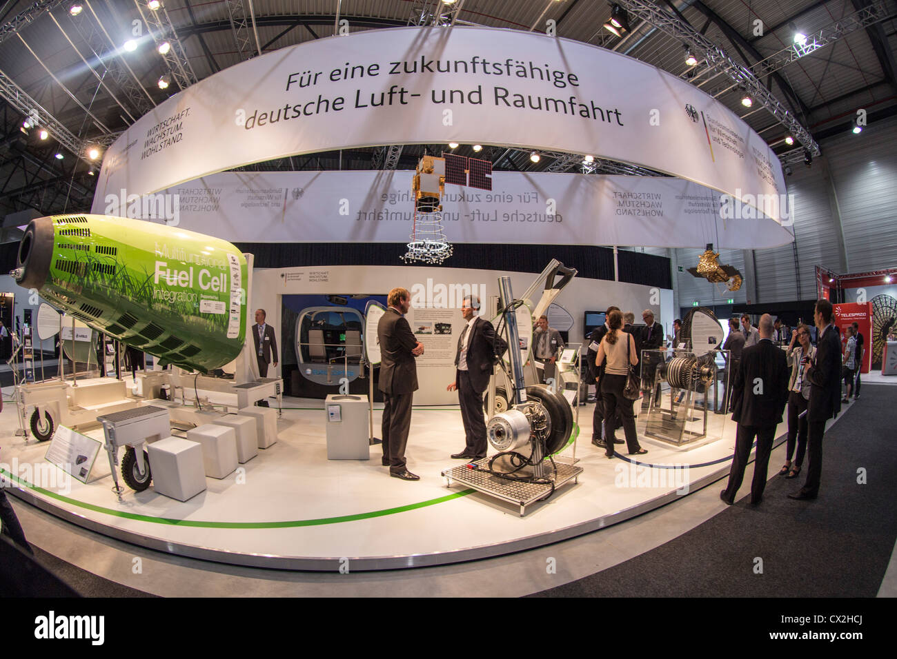 BMWi, Fuel Cell ILA , International Aerospace Exhibition , Berlin - Stock Image