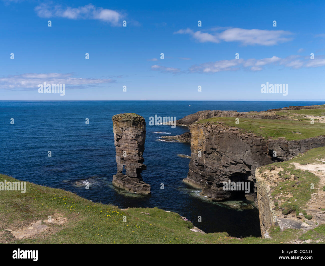 dh Yesnaby Castle YESNABY ORKNEY Sea stack rocky coast