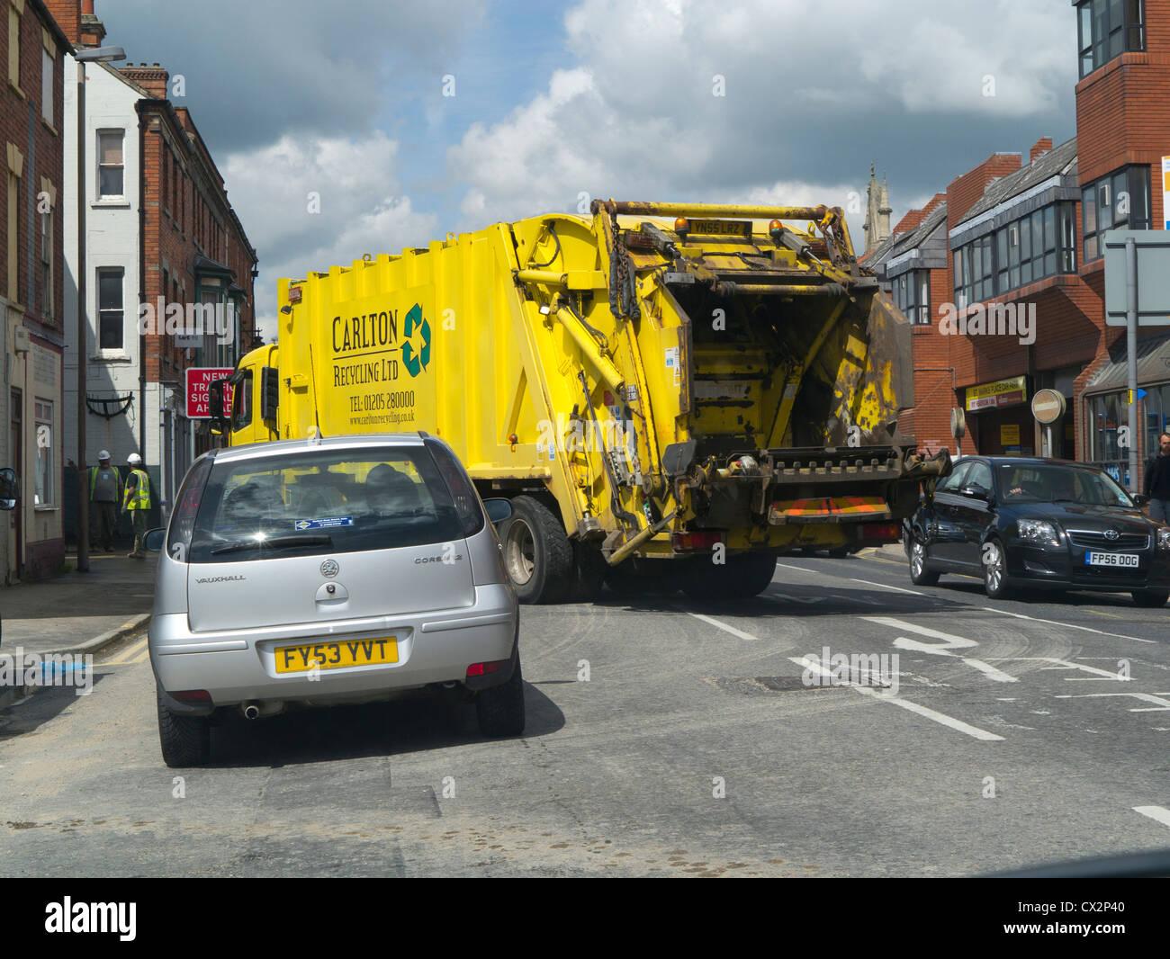 Traffic congestion, England, UK - Stock Image