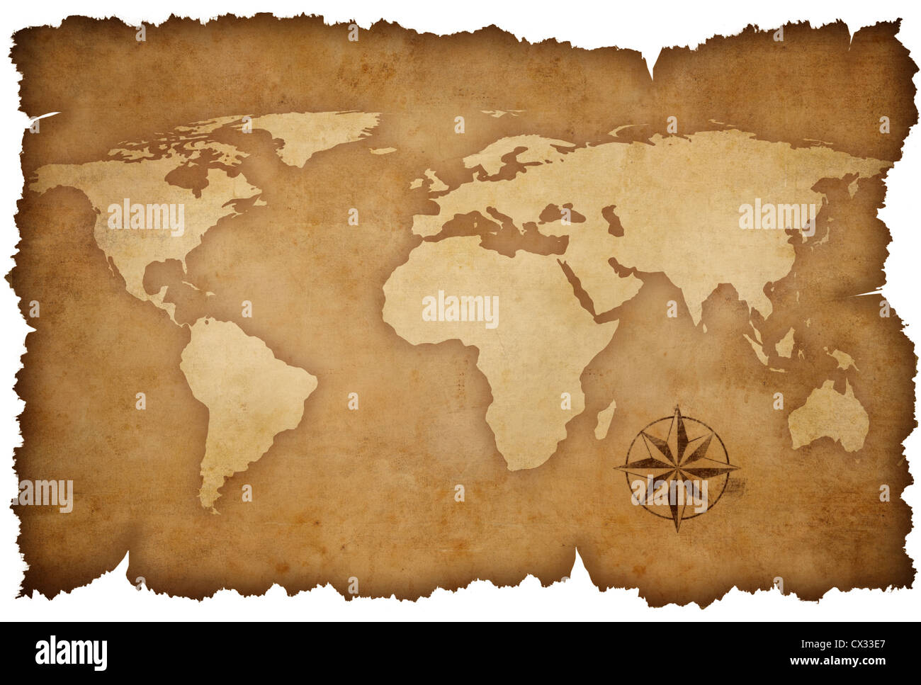 Grunge world map background with rose compass stock photo 50470399 grunge world map background with rose compass gumiabroncs Gallery
