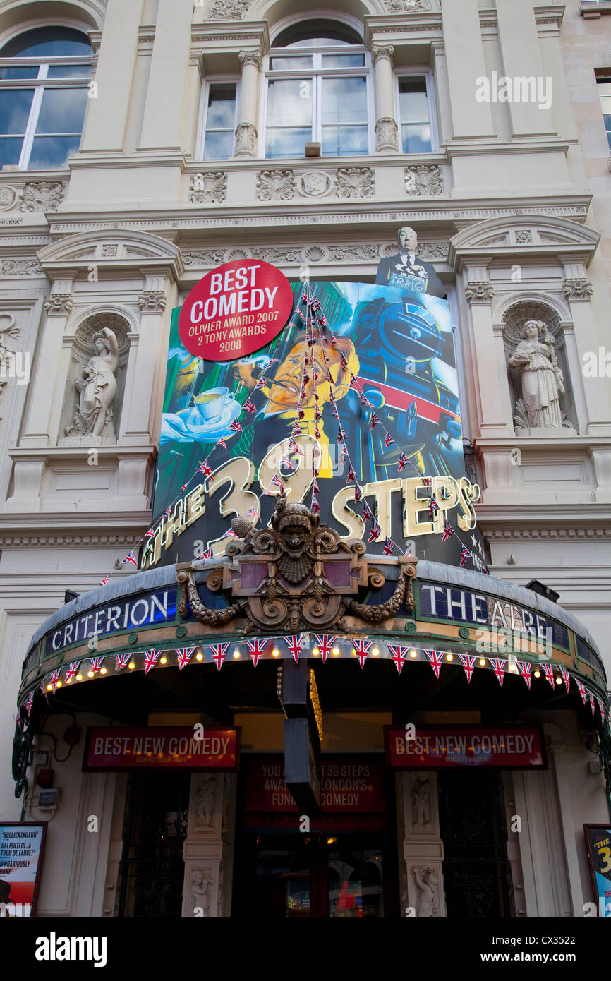 39 Steps, Criterion Theatre; West End; London, England, UK - Stock Image