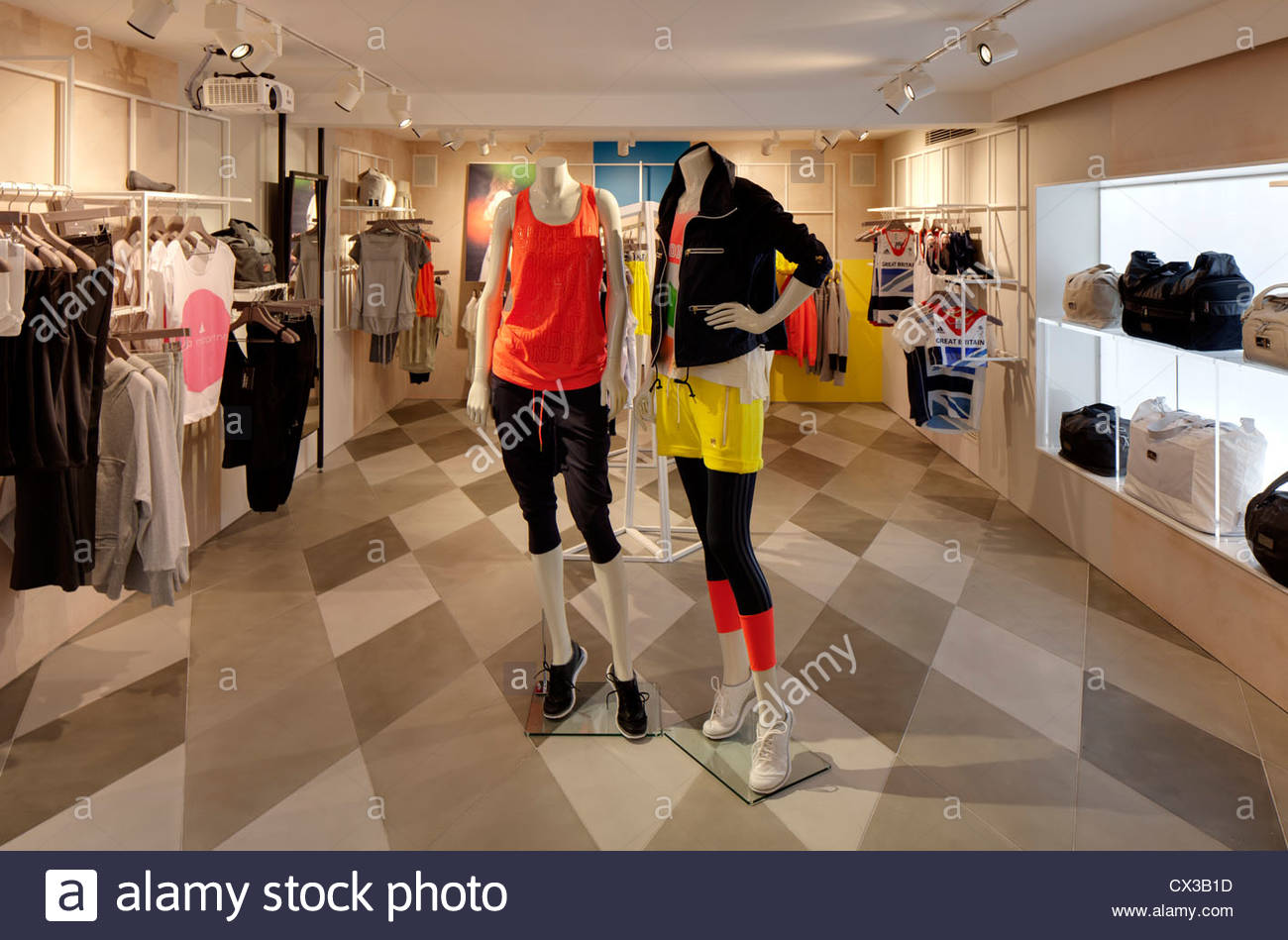 Adidas Store London Stock Photos & Adidas Store London Stock Images ...