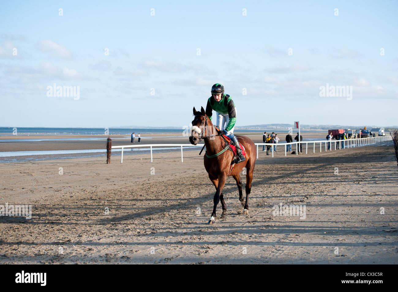 Laytown Races Laytown Co Meath Ireland - Stock Image