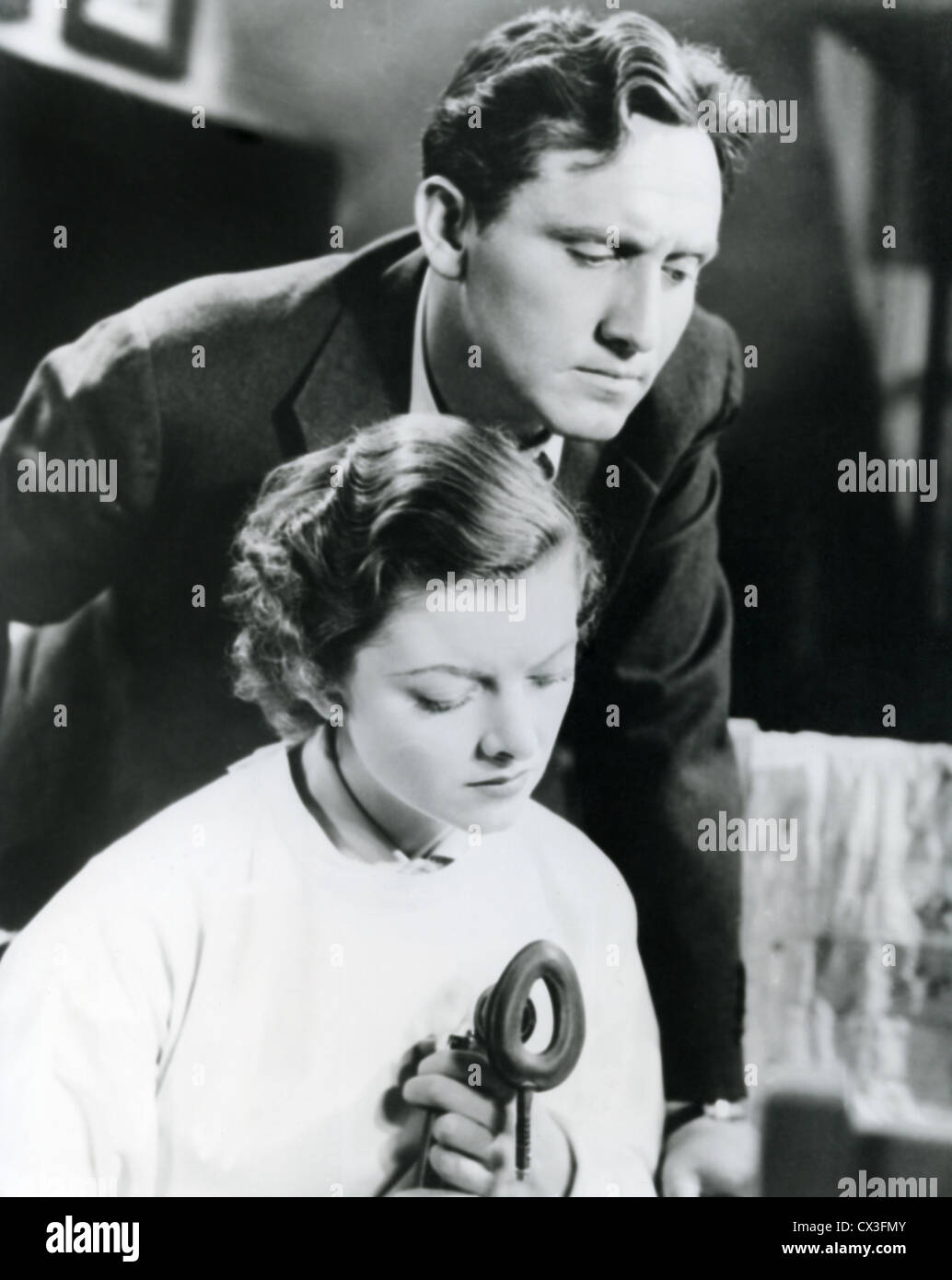 WHIPSAW (1936) MYRNA LOY, SPENCER TRACY SAM WOOD (DIR) 002 MOVIESTORE COLLECTION LTD - Stock Image