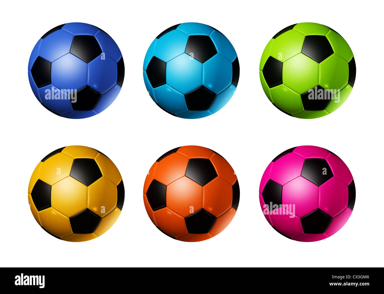 - Blue And White Soccer Balls Cut Out Stock Images & Pictures - Alamy