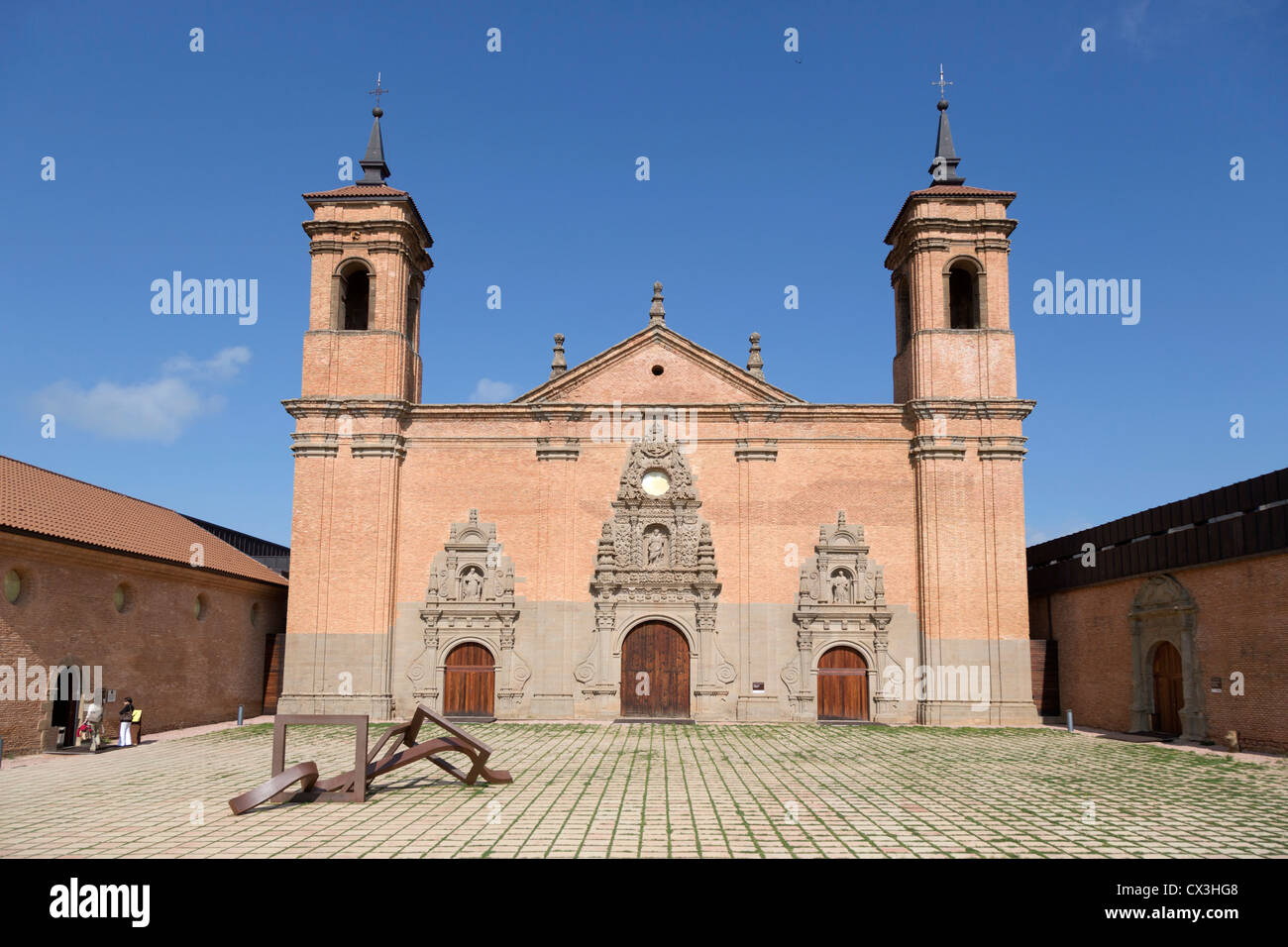 San Juan de la Pena; new monastry; near Jaca; Spain - Stock Image