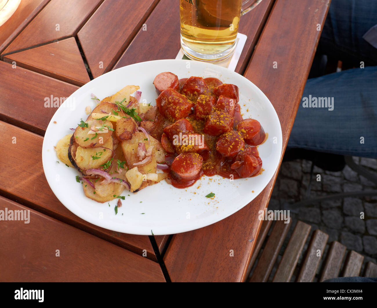 typical german classic berliner currywurst stock photo 50484060 alamy