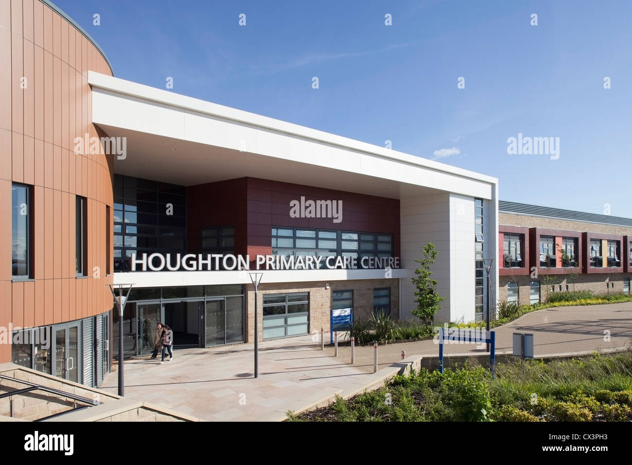 Houghton Primary Care Centre, Houghton Le Spring, United Kingdom. Architect P+HS Architects, 2011. - Stock Image