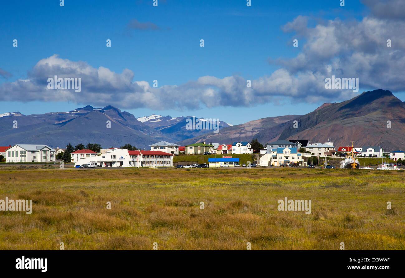 Höfn (Höfn Í Hornafirđi), South East Iceland Stock Photo
