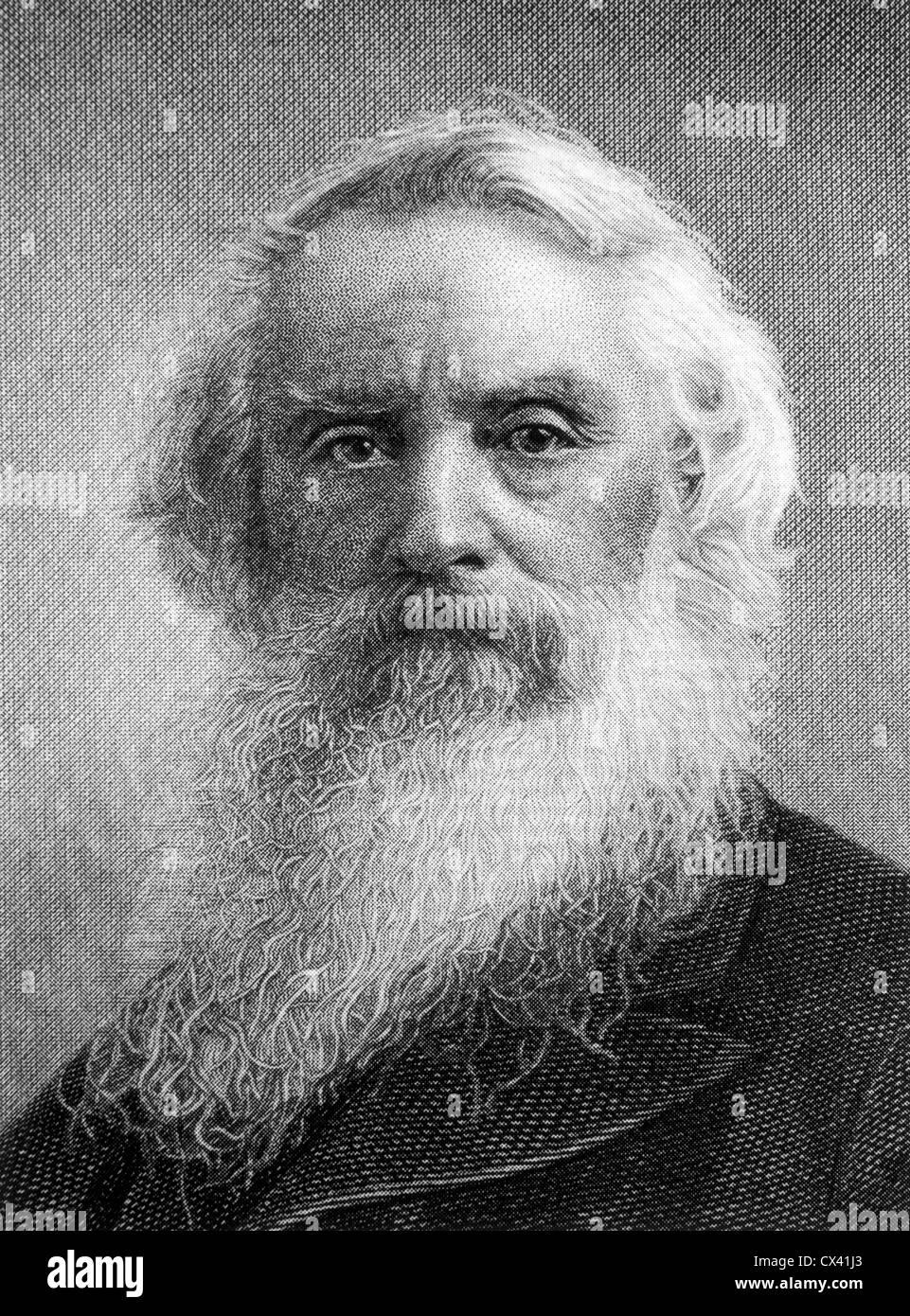 Samuel F. B. Morse (1791-1872), American Inventor, Portrait - Stock Image