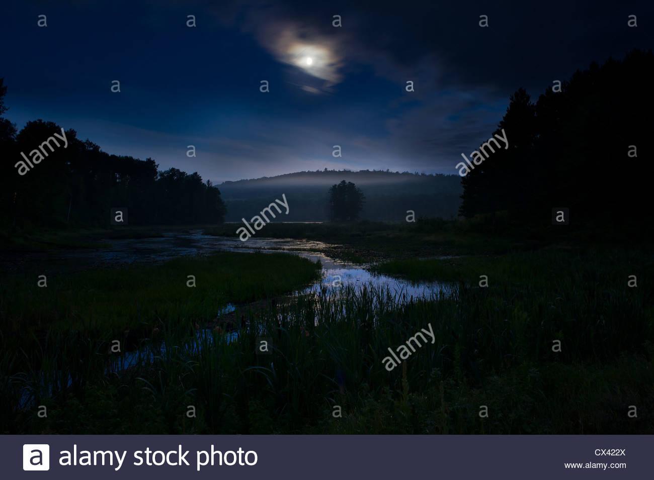 Aylen Moon madawaska lake stock photos & madawaska lake stock images