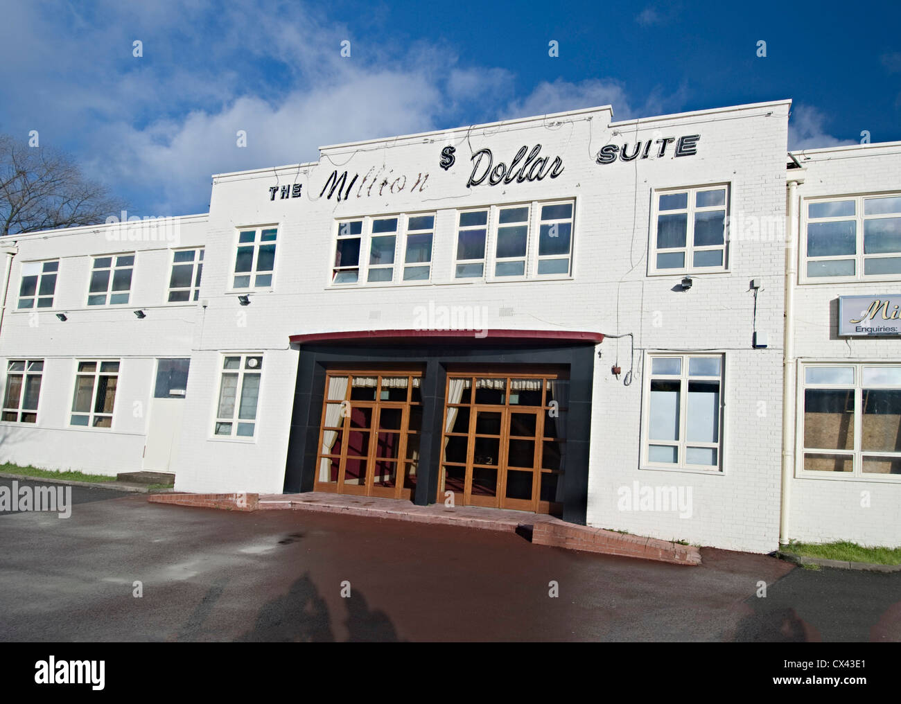 The million dollar suite Wolverhampton banquet hall Stock Photo