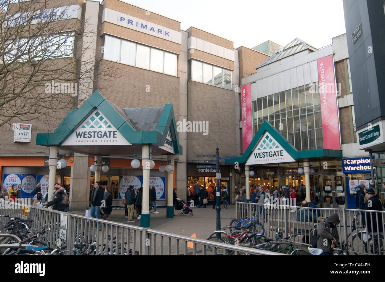 westgate shopping centre center oxford uk - Stock Image