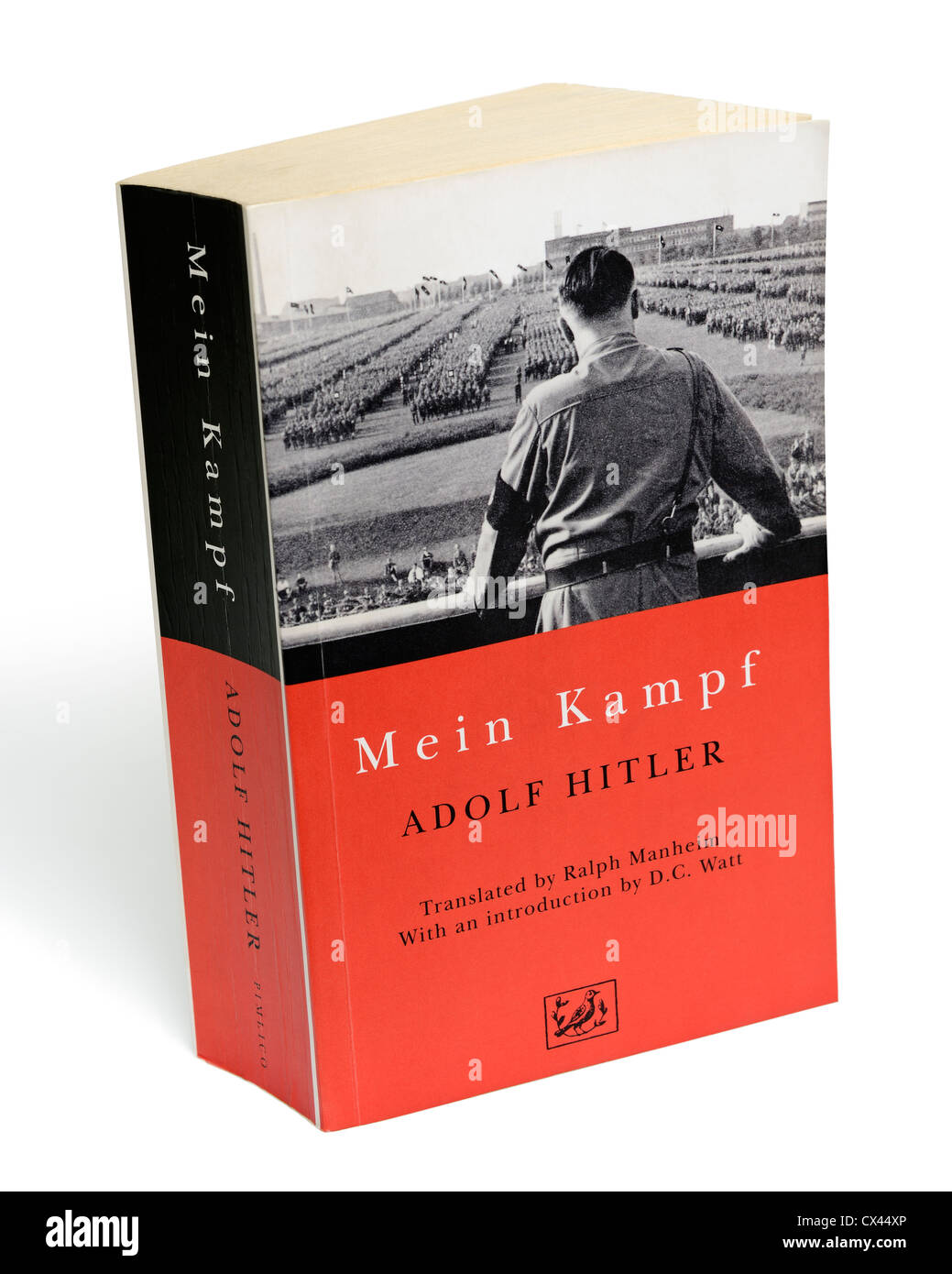Mein Kampf. Book by Adolf Hitler, Containing His Autobiography and Nazi Political Ideology. - Stock Image