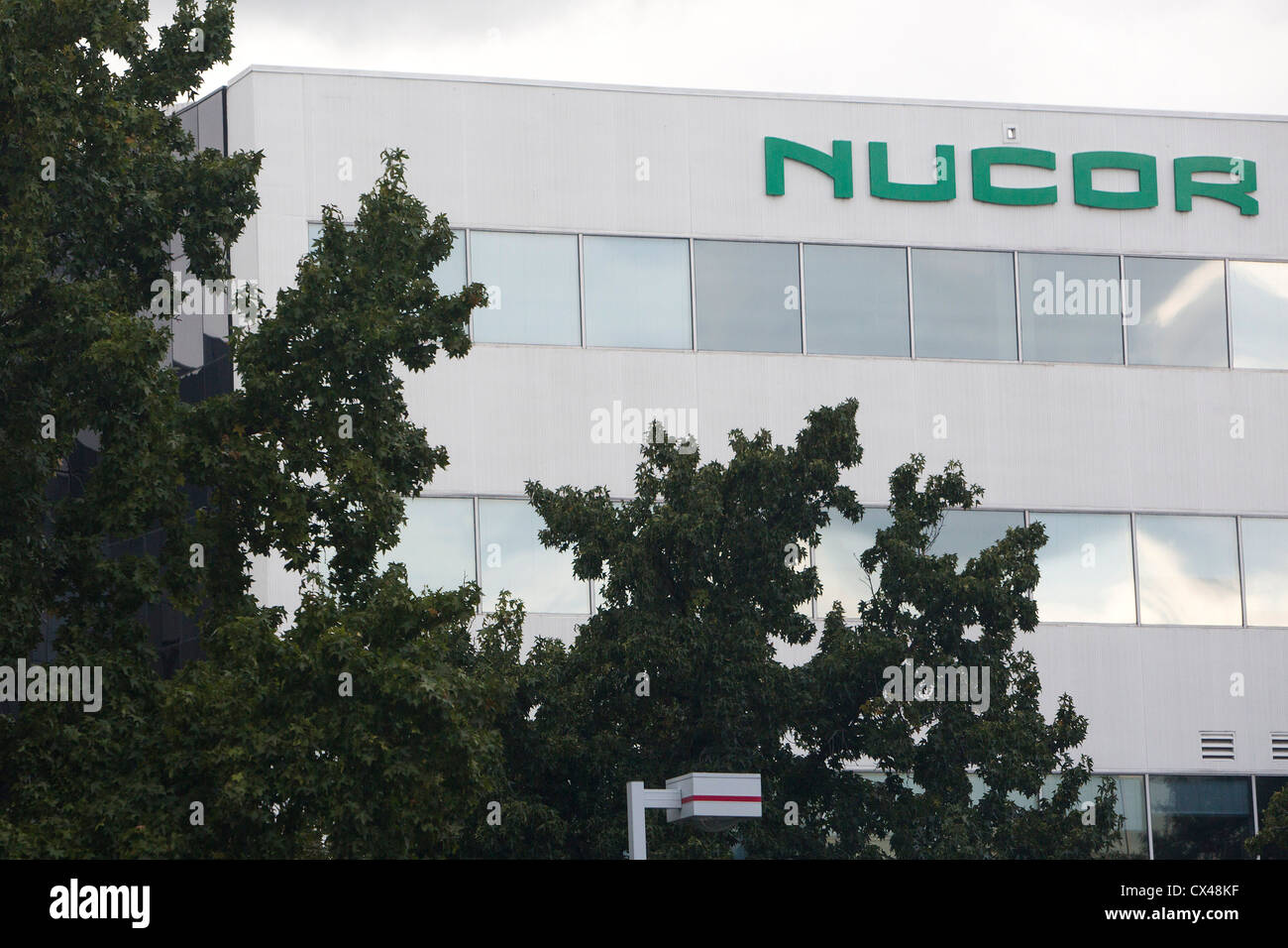 The headquarters of the steel manufacturing company Nucor