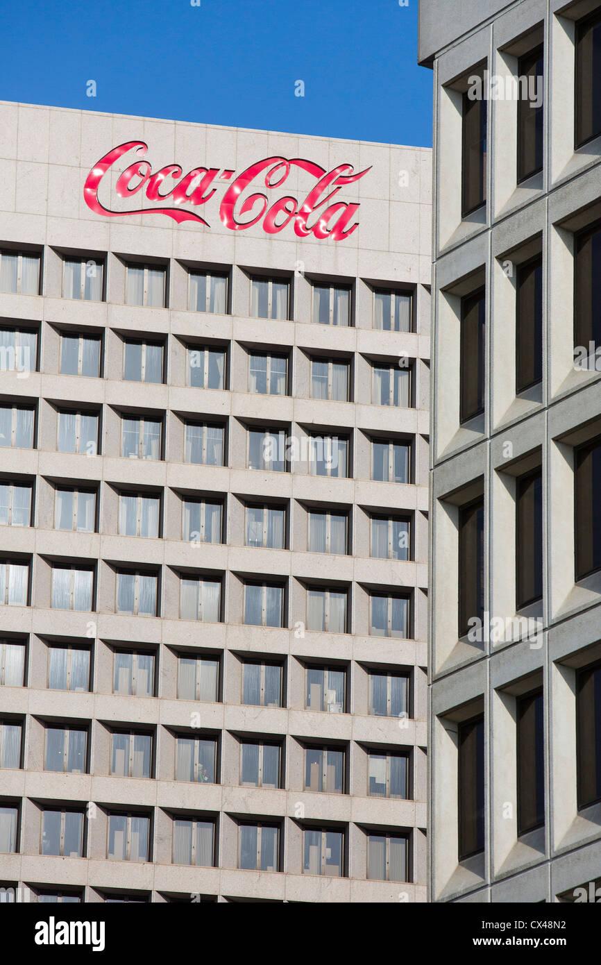 The World Headquarters of Coca-Cola.  - Stock Image