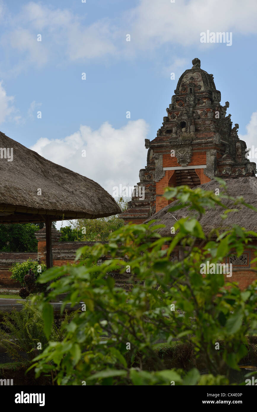 The entrance of the Pura Taman Ayun (Royal Temple) in the village of Mengwi; Bali, Indonesia. Stock Photo
