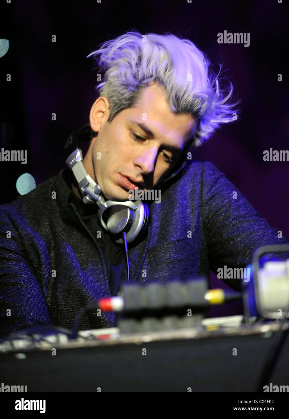 mark ronson at  BRMB Live 2010 at the Birmingham LG Arena in Birmingham, Englan - Stock Image