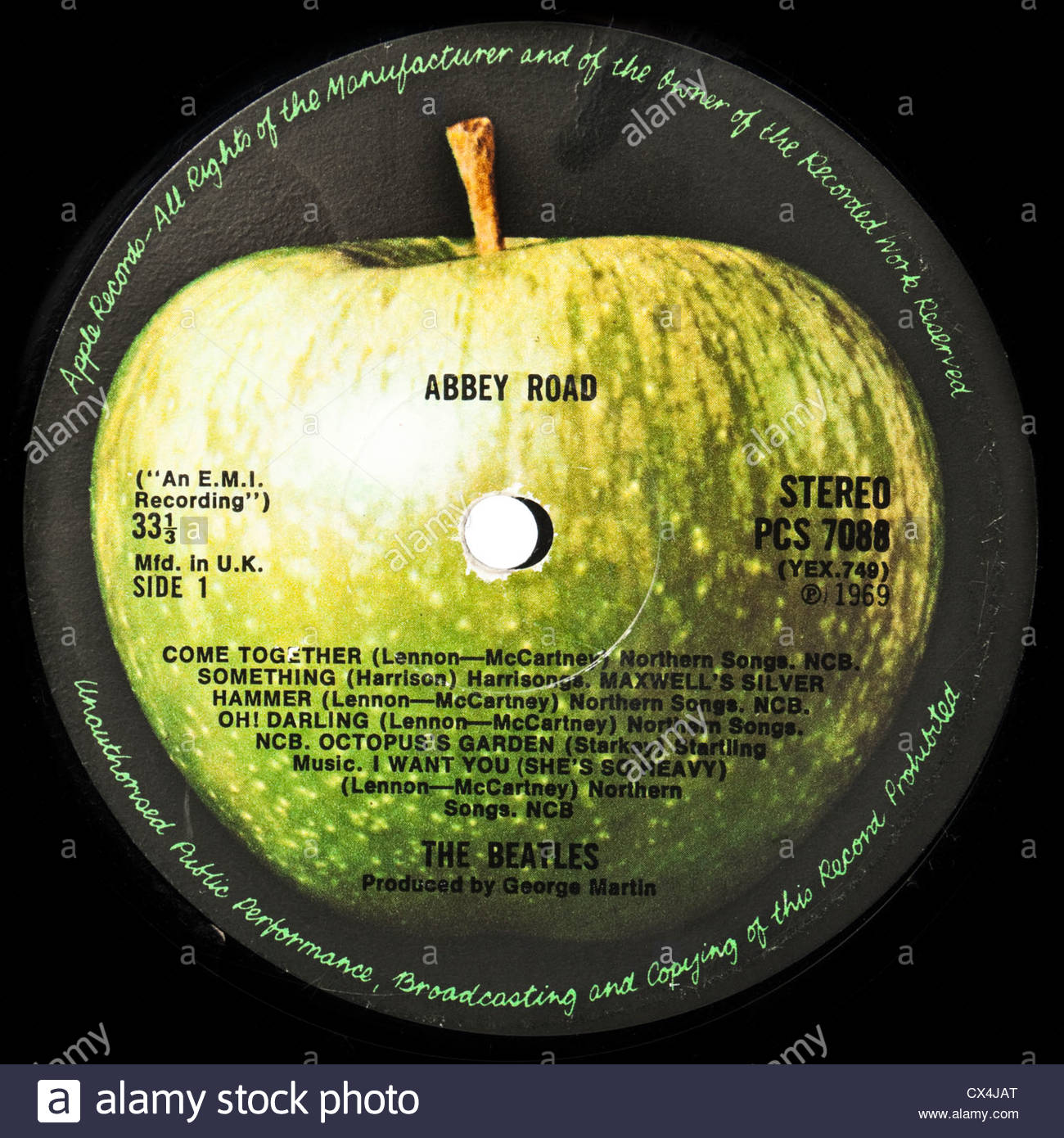 Quot Abbey Road Quot Lp By The Beatles 1969 Stereo Version