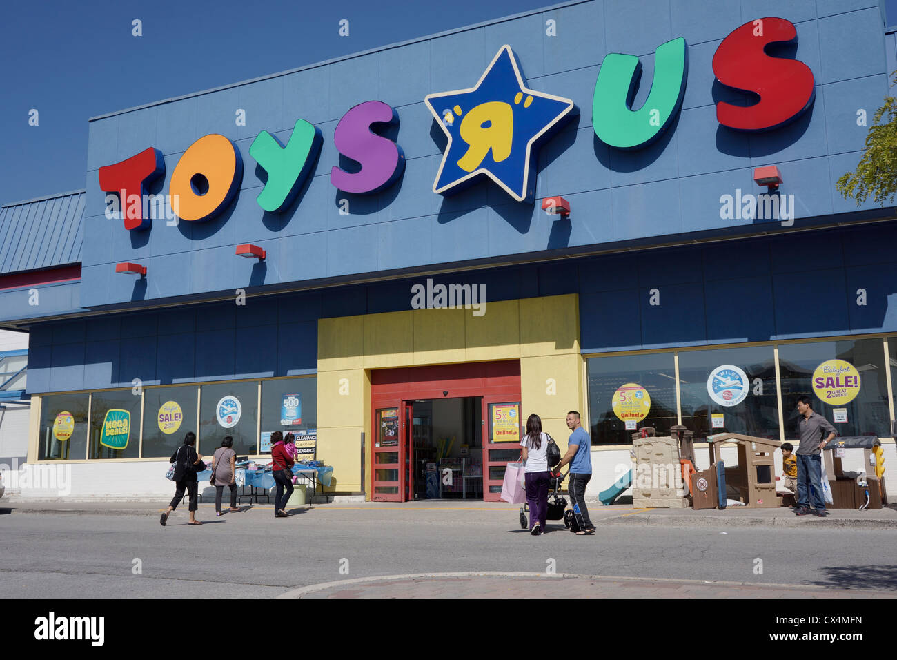 Toys R Us - Stock Image
