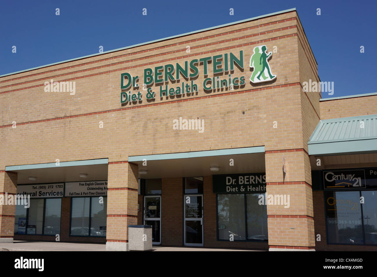Dr. Bernstein Diet and Health Clinics, clinic in Mississauga, Ontario, Canada - Stock Image