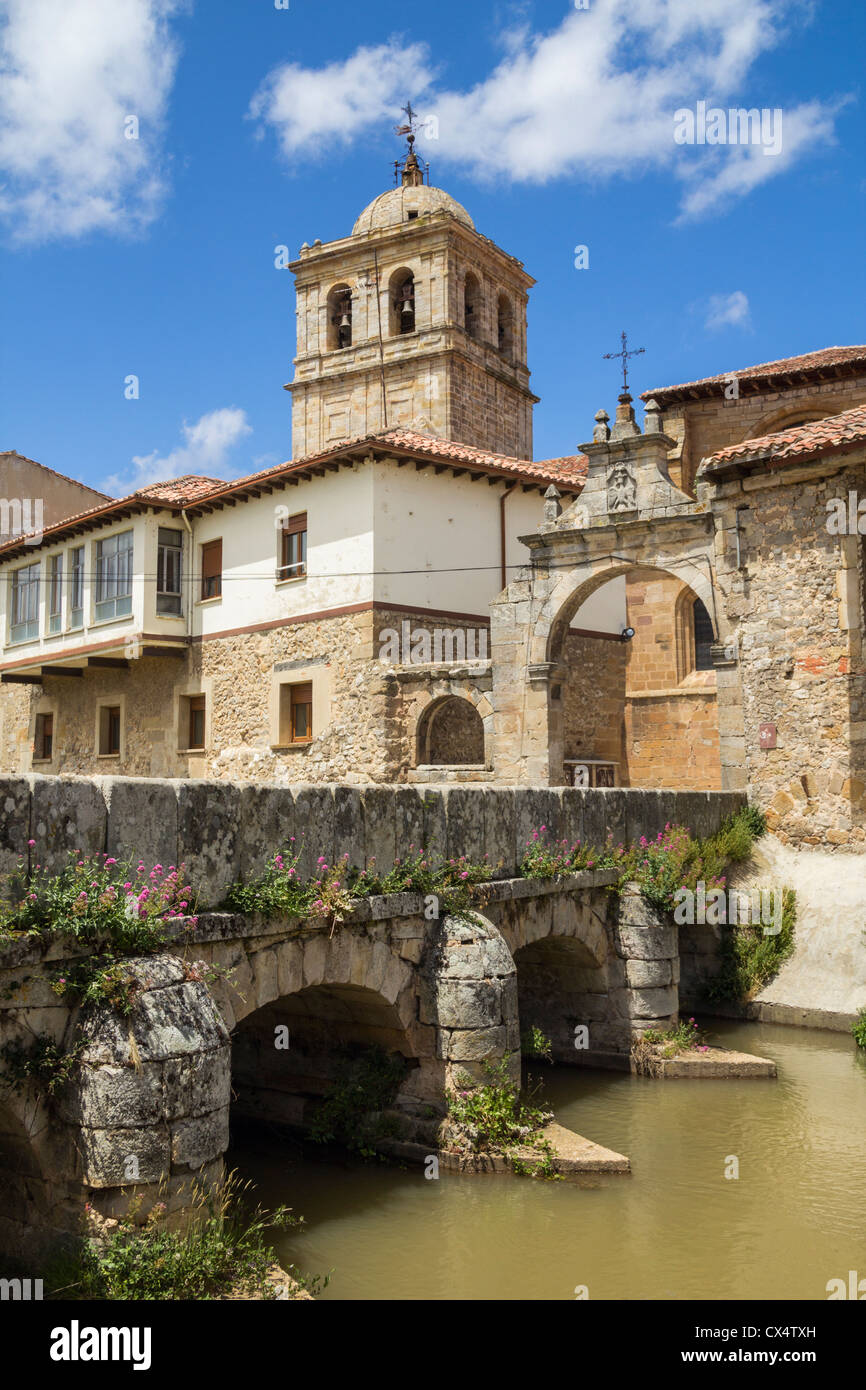 Aguilar de Campoo in Palencia province in northern Spain. - Stock Image