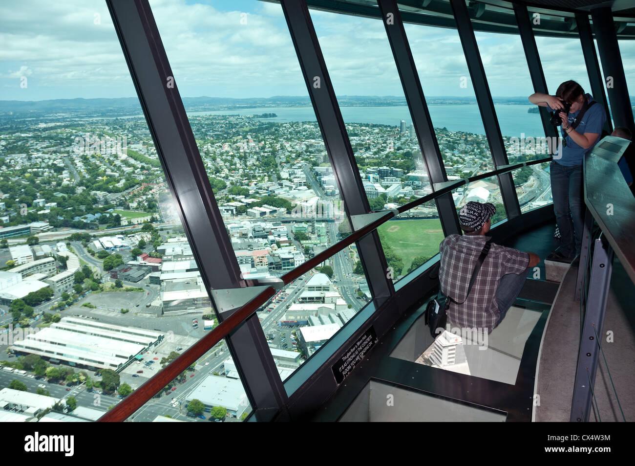 Auckland Tower Glass Floor