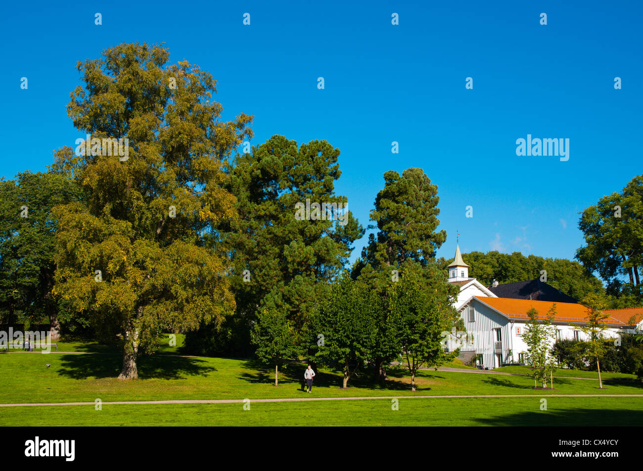 Frognerparken park Frogner district Oslo Norway Europe Stock Photo