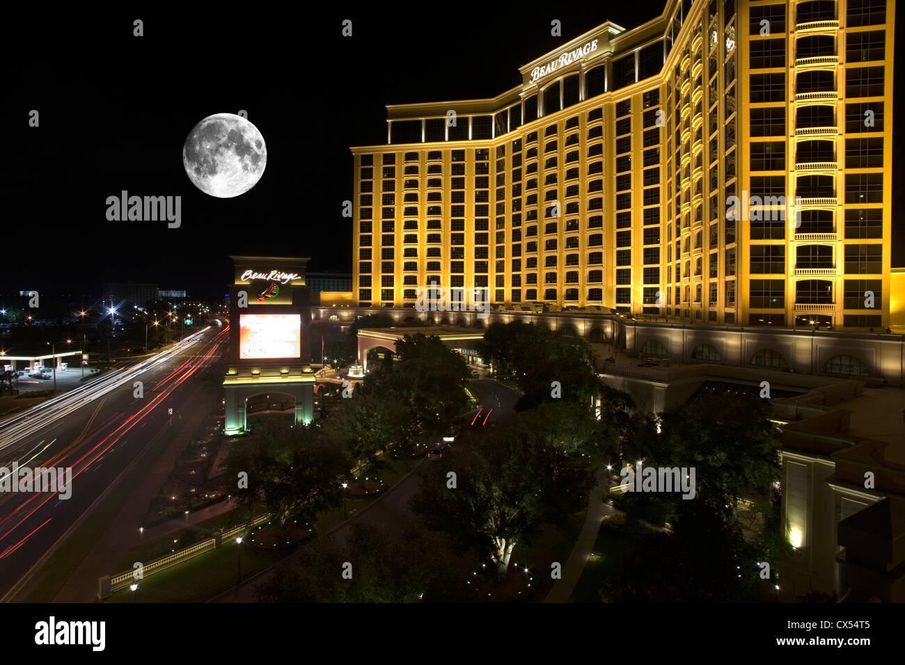 Beau Rivage Resort Casino Beach Boulevard Biloxi Mississippi Usa