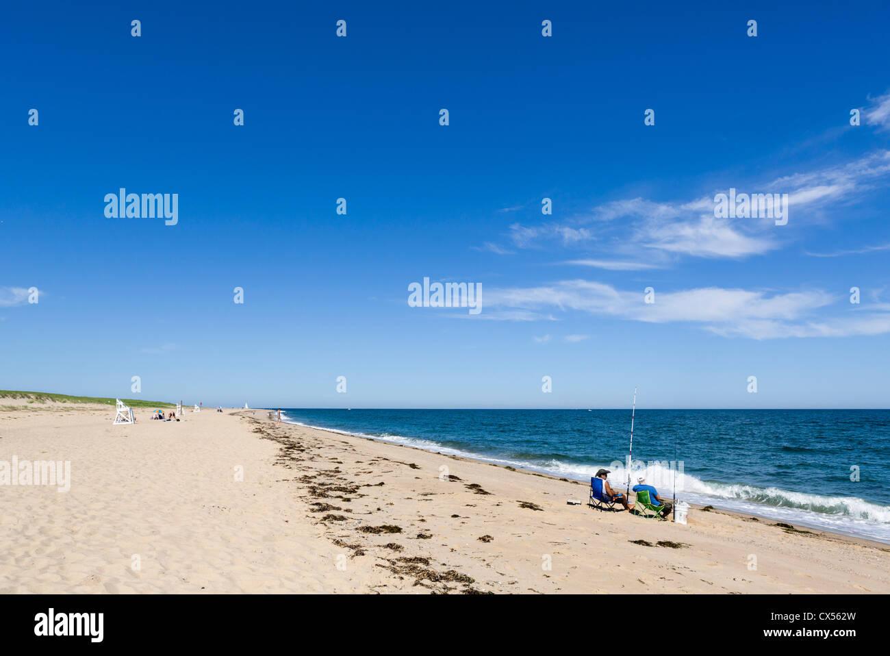 Race Point Beach, Cape Cod National Seashore, Cape Cod, Massachusetts, USA - Stock Image