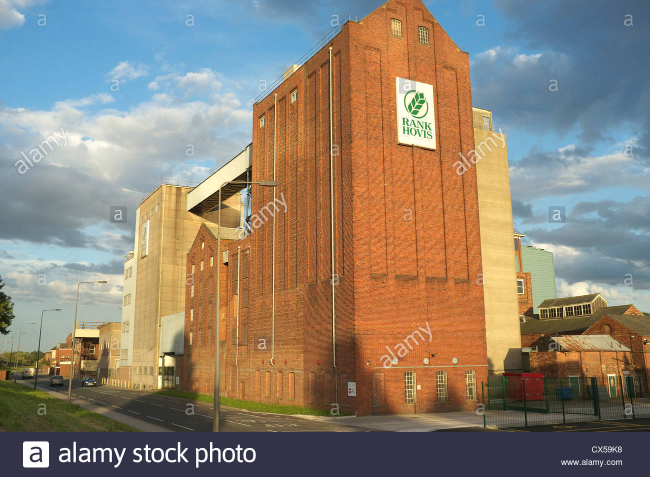 Rank Hovis, Imperial Flour Mills, Barlby Road, Selby, Yorkshire, UK. - Stock Image