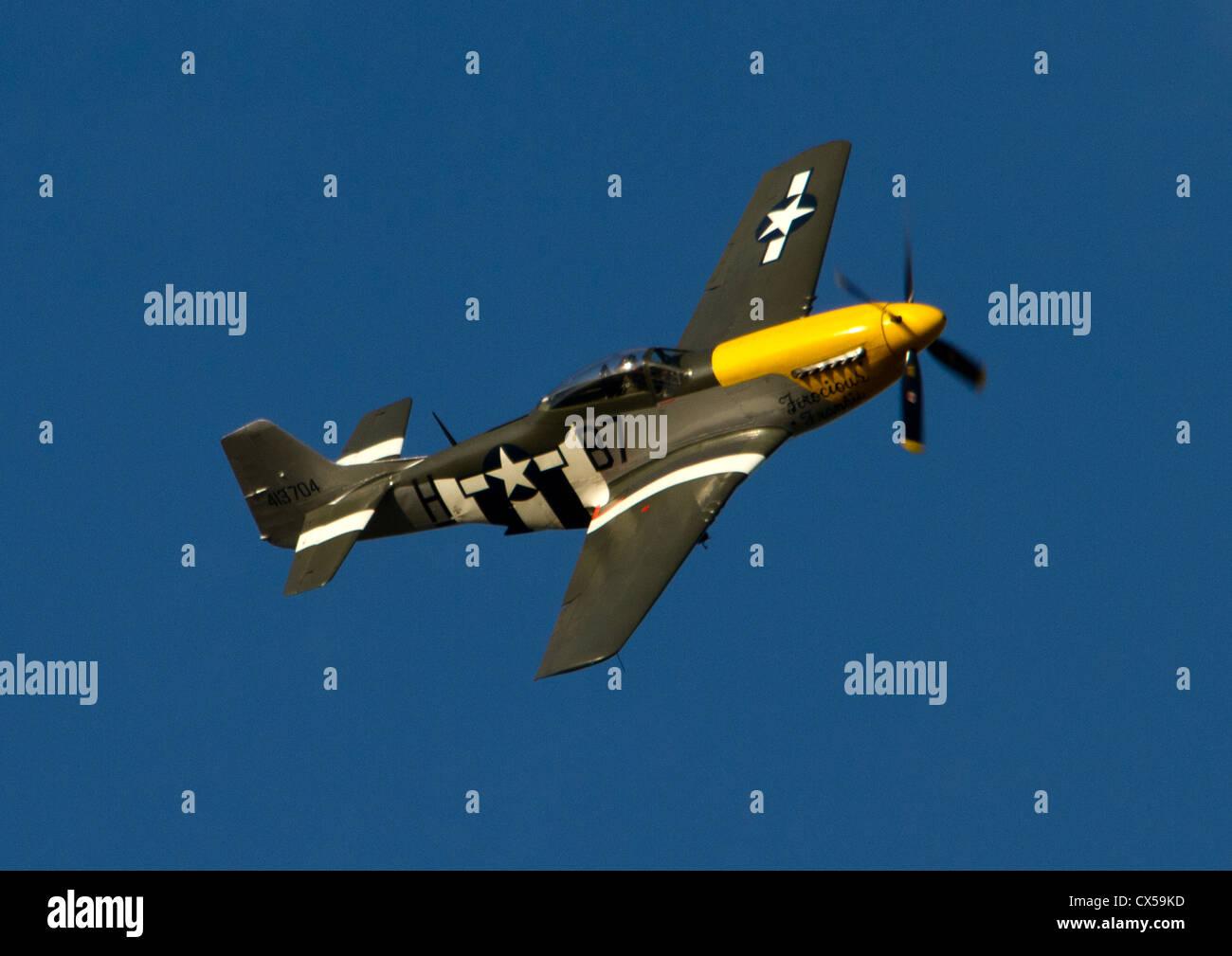 "Mustang P-51D ""Ferocious Frankie"" 413704 Stock Photo"
