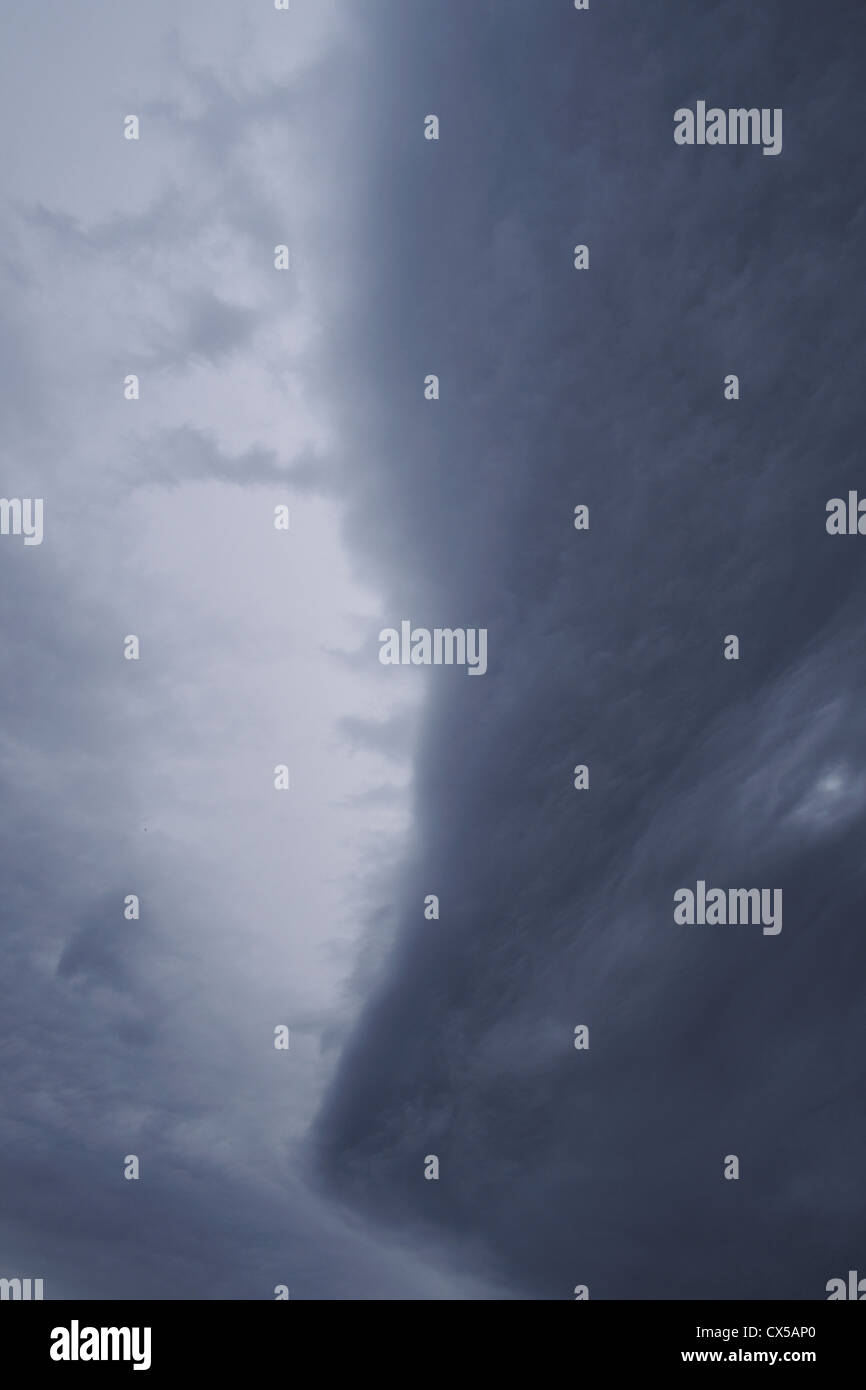 Cold frontal cloud detail - Stock Image