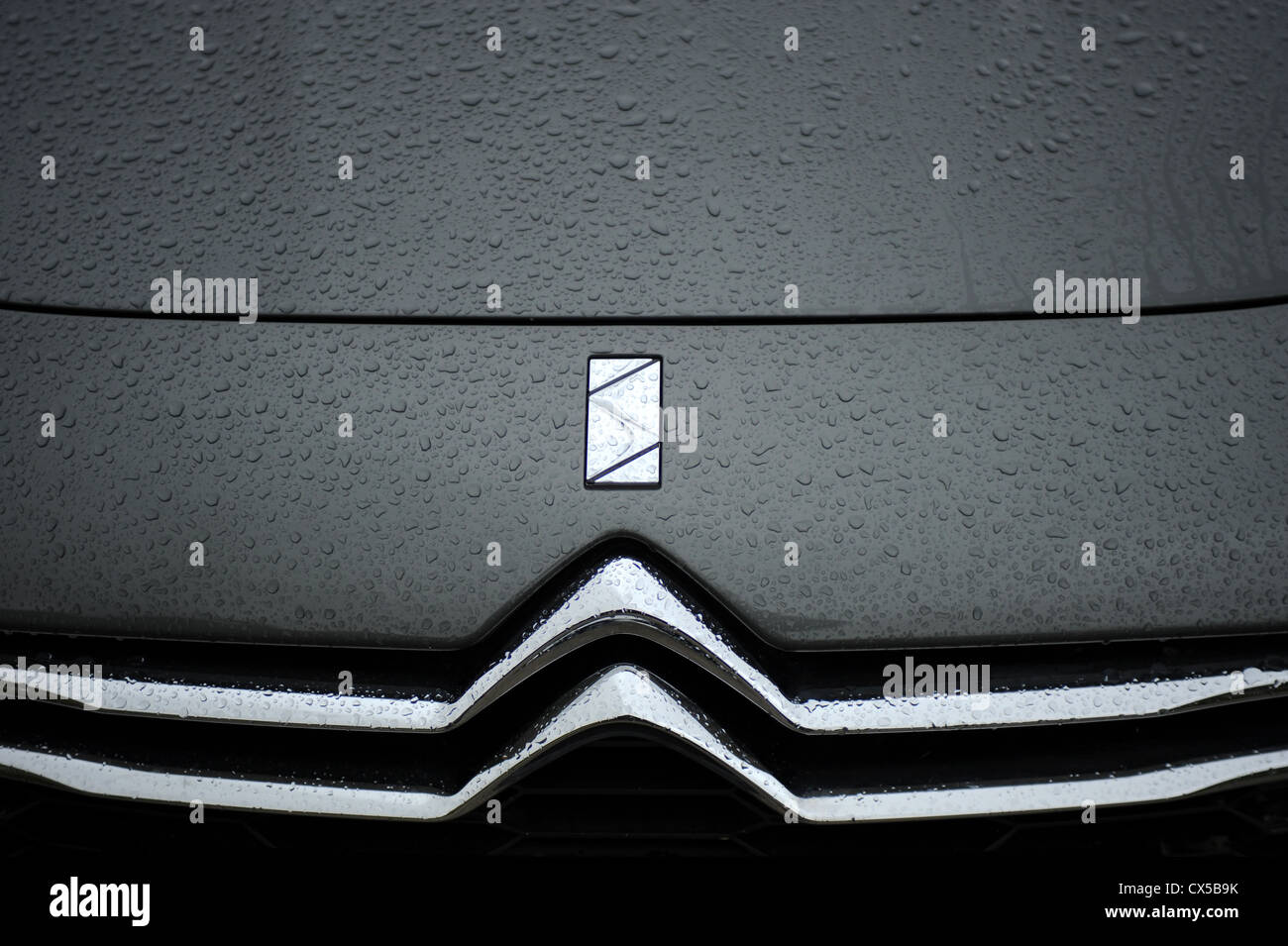 Citroen DS 5 HDI 160 6 - speed manual - Stock Image