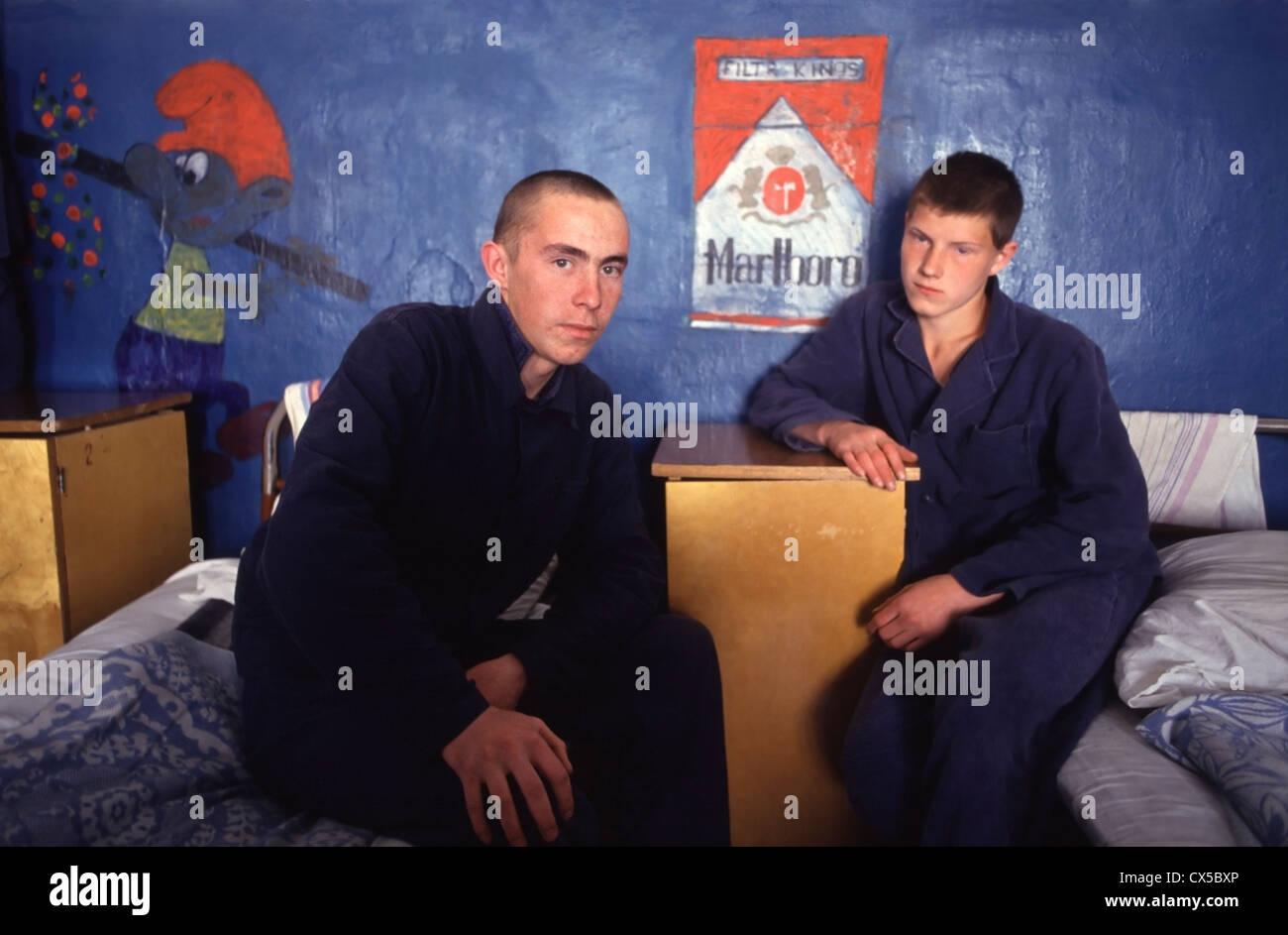 Teenage crime in Russia