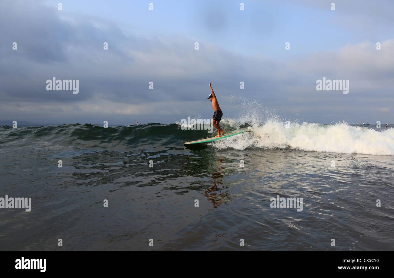 Longboard Surfer Stock Photos  U0026 Longboard Surfer Stock