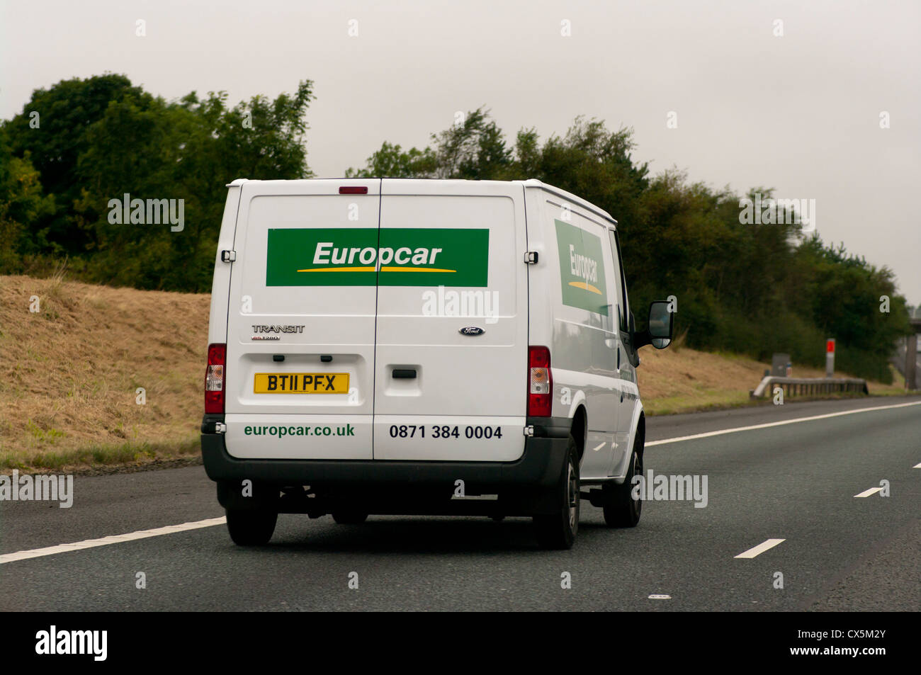Europcar Hire Vehicle Stock Photo 50527315 Alamy