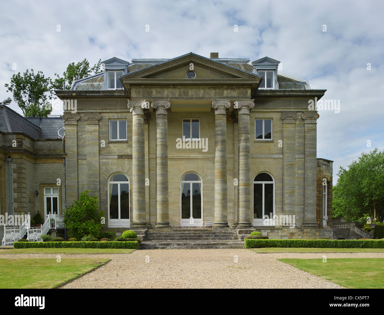 Brasted Place, Kent, by Robert Adam 1784-5 - Stock Image