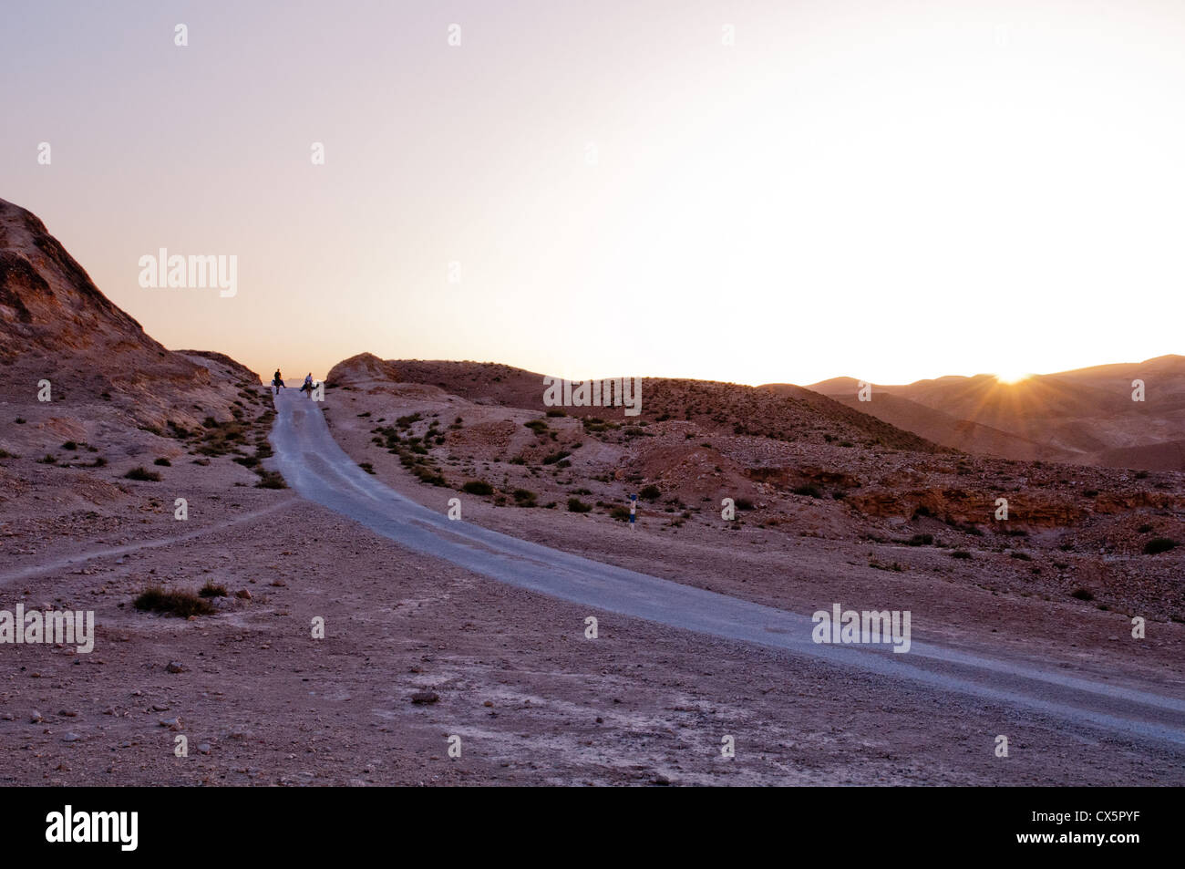 A view near Jericho in the West Bank of Palestine - Stock Image
