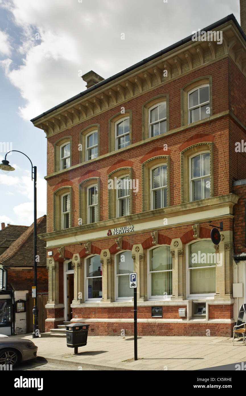 Tenterden, Kent. NatWest Bank - Stock Image