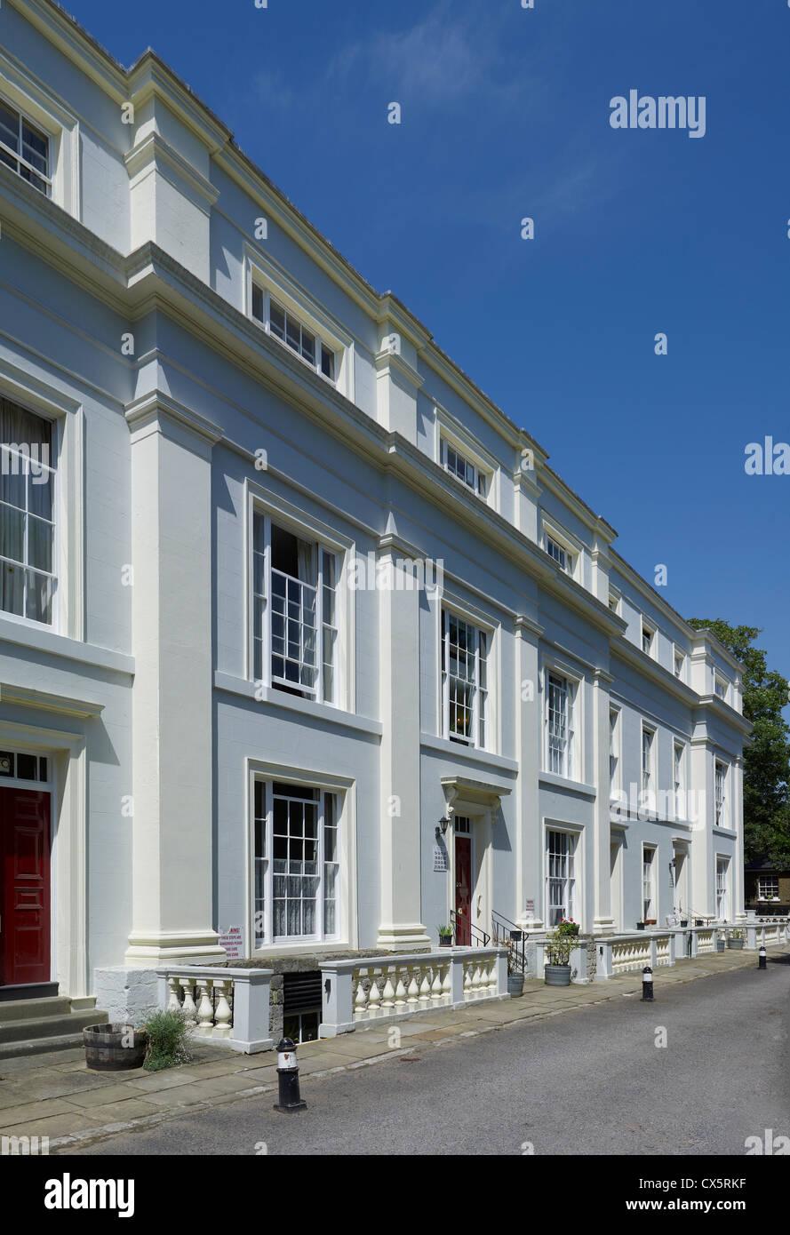 Madistone, Kent. Rocky Hill Terrace - Stock Image