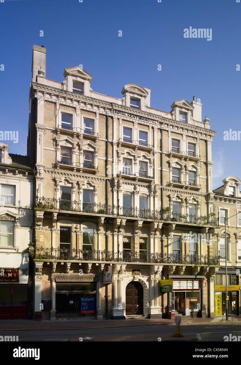 Tunbridge Wells, Kent  Royal Kentish Hotel, - Stock Image