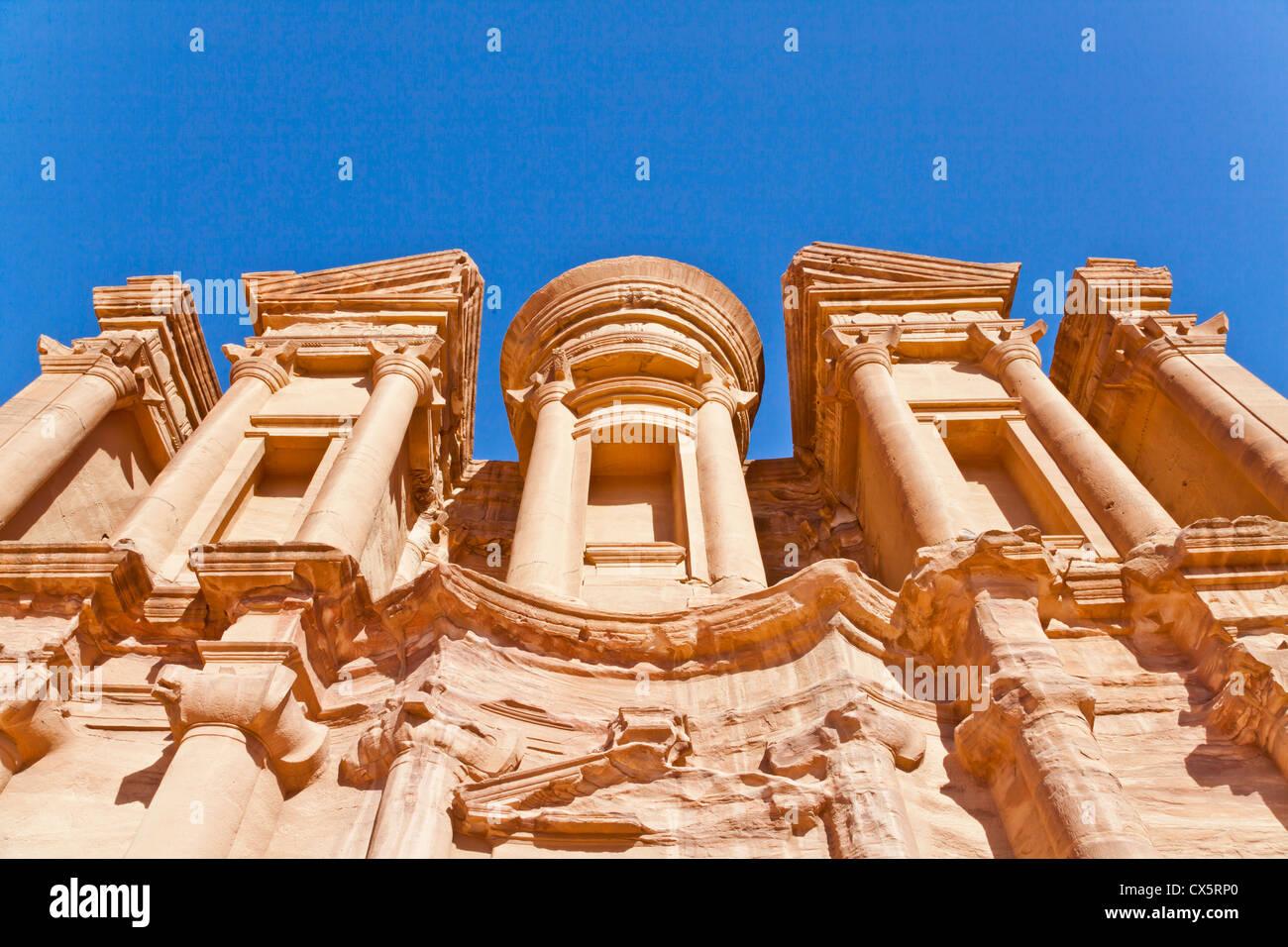 facade of monastery Stock Photo