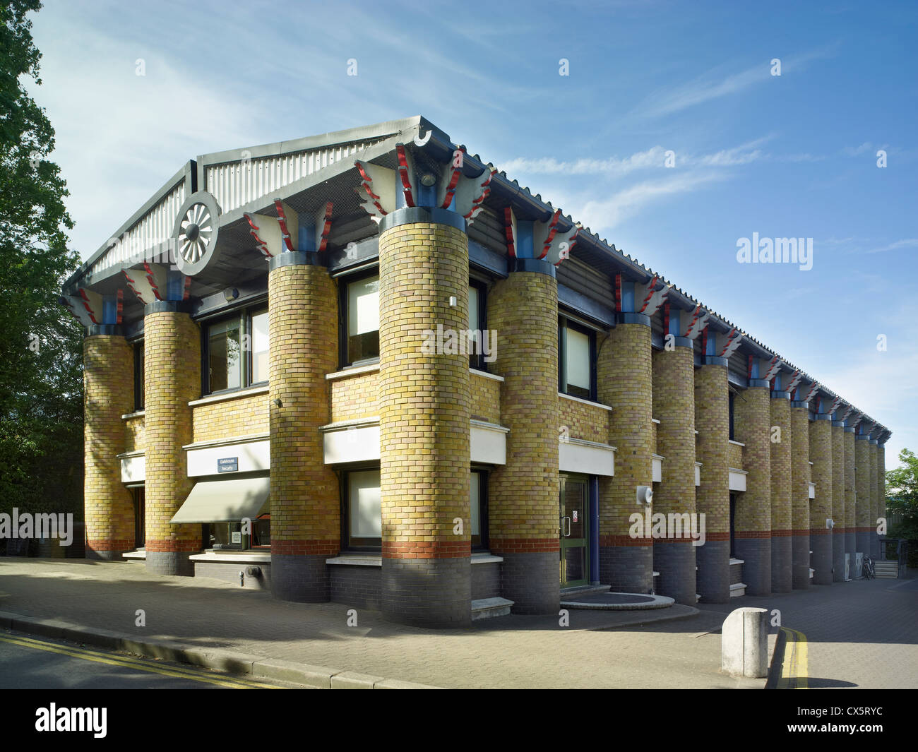 Swanley, Kent, United House, by John Outram - Stock Image