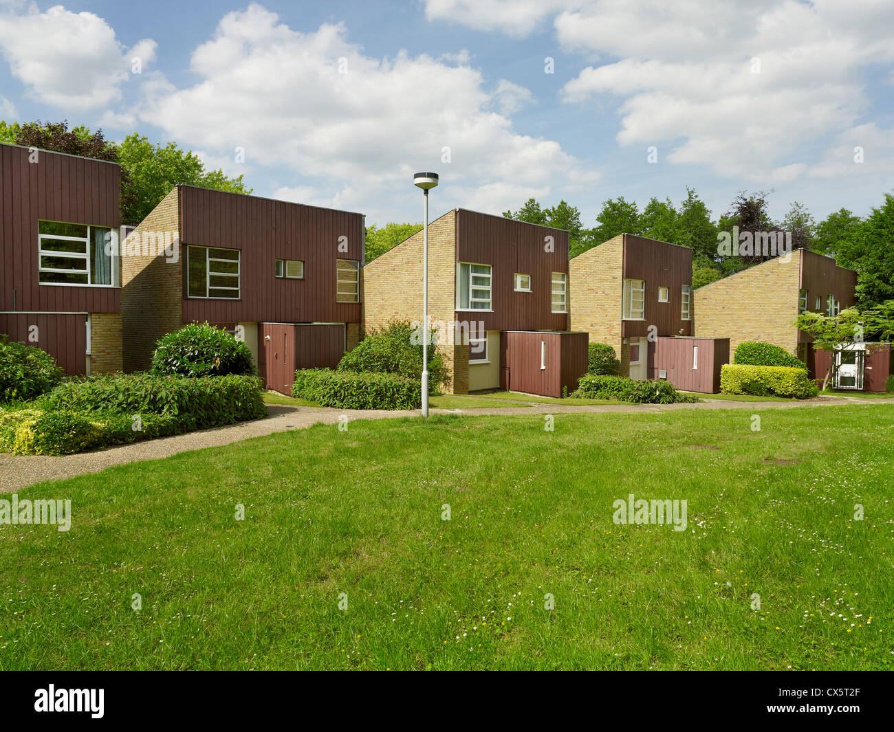 New Ash Green, Kent. Knights Croft - Stock Image