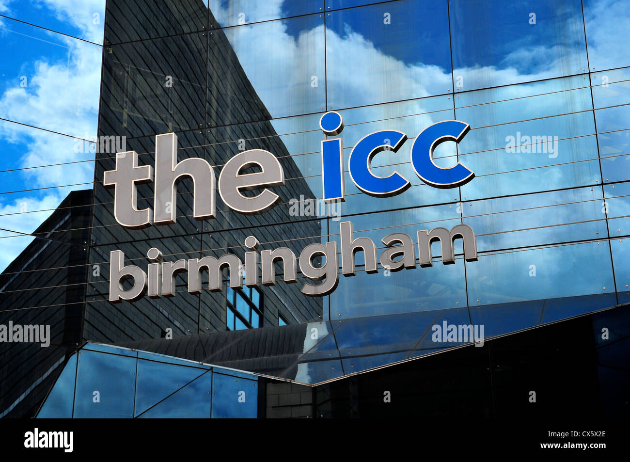 ICC conference centre in Birmingham, England, UK - Stock Image
