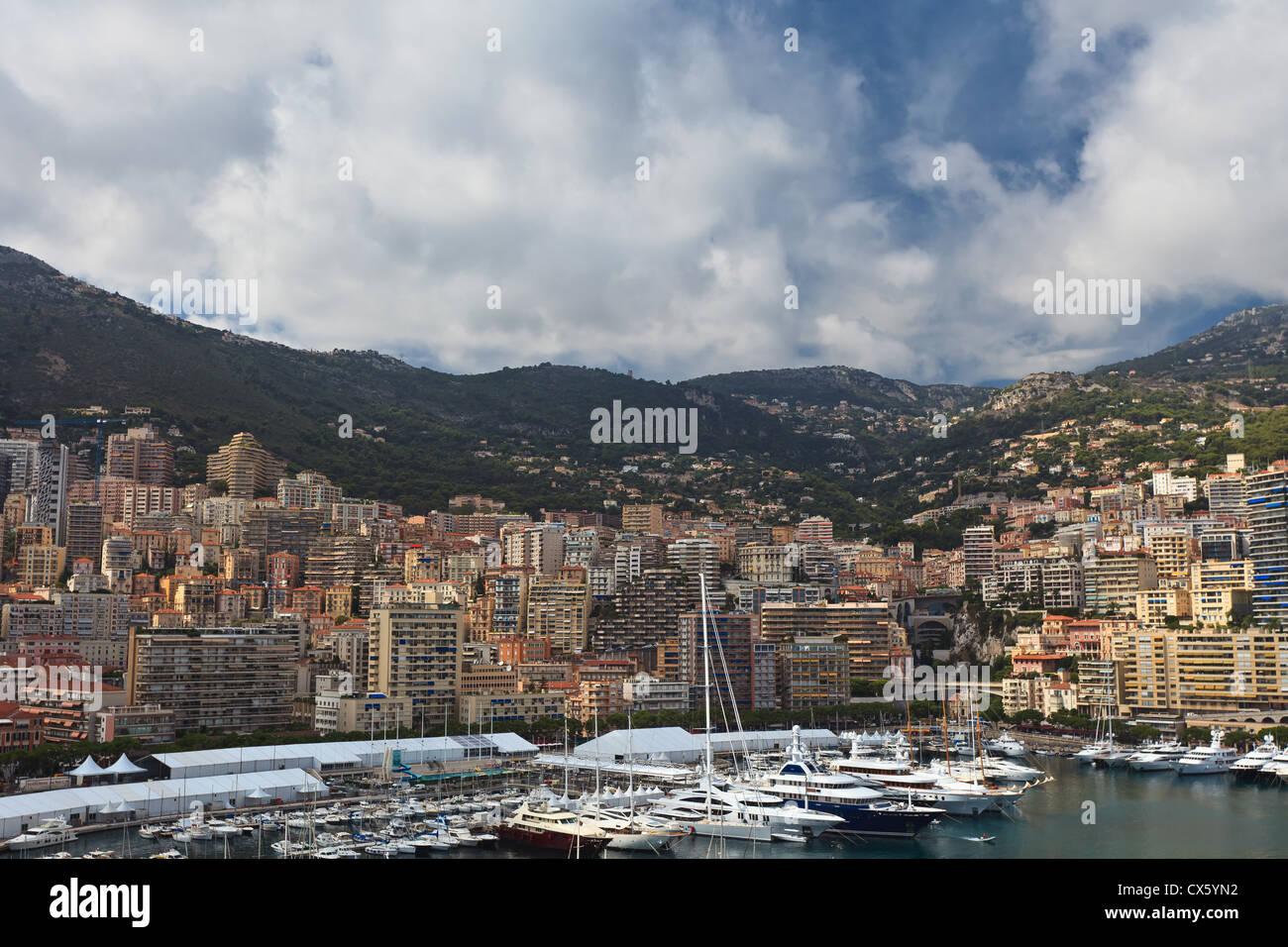 city of Monaco - Stock Image
