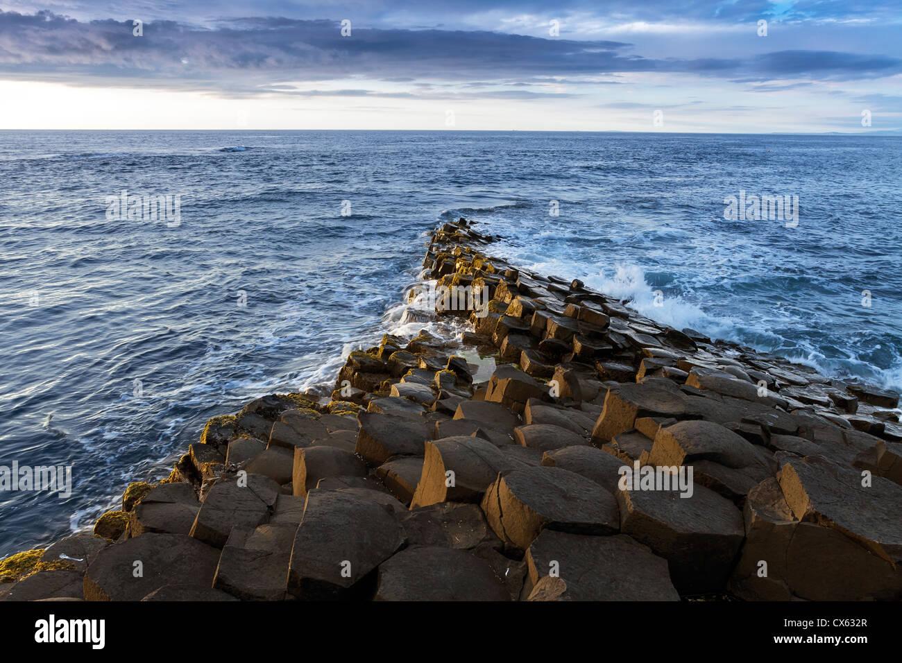 Giants Causeway - Stock Image