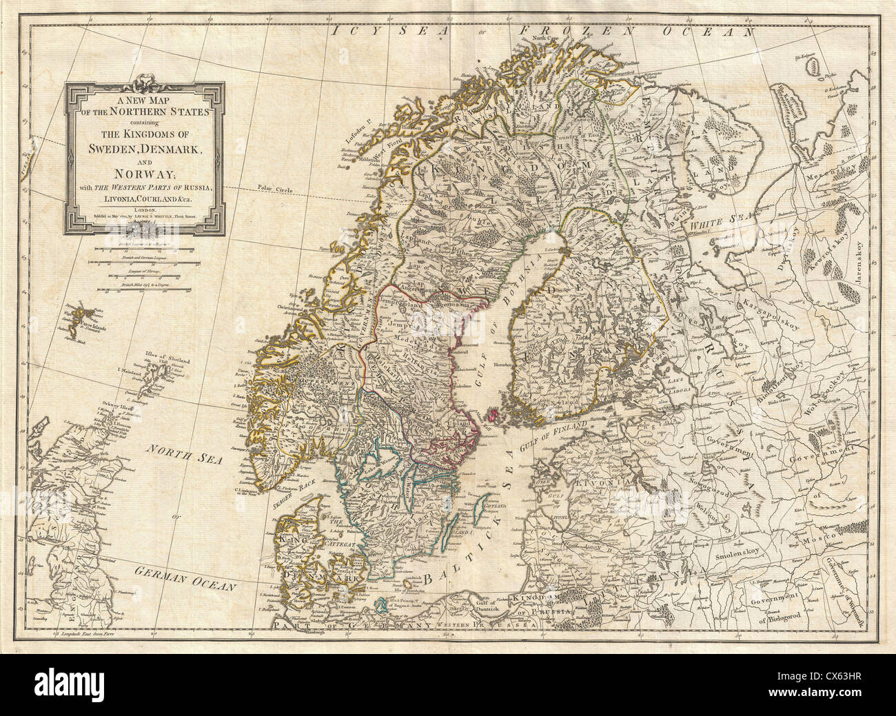Map And Norway And Sweden And Finland Stock Photos & Map And Norway State Map Of Neska on